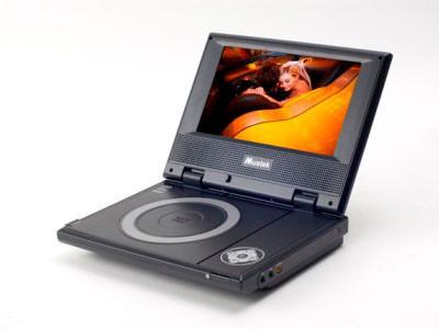 "Mustek MVP700 7"" Portable DVD Player w/ USB & SD/MMC Slot"