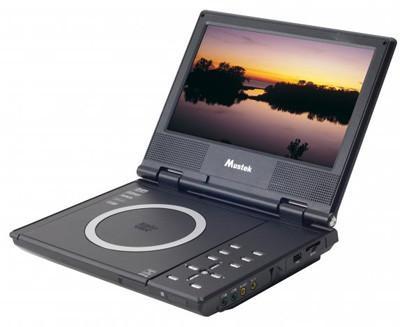 """Mustek MVP850E 8.5"""" Portable DVD Player w/ USB & SD/MMC Slot"""