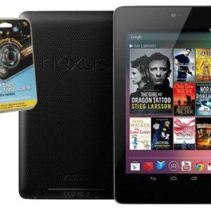 "ASUS Google NEXUS 7 32GB Tablet +Targus Gaming Controller (7"" Android 4.2 WiFi) - Manufacturer (ASUS) refurbished"