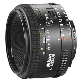 Nikkor AF 50mm f/1.8D Lens for Nikon Digital SLR Cameras