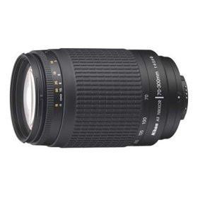 Nikon AF 70-300mm f/4-5.6G Nikkor Lens