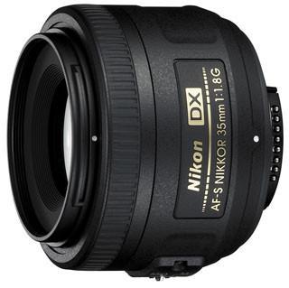 Nikkor AF-S 35mm F/1.8G Lens for Nikon Digital SLR Cameras
