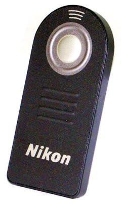 Nikon ML-L3 Remote Control for Nikon Digital SLR Cameras D-70 D70, D70s, D40, D50, D80, D90