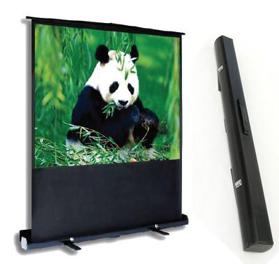 """PCP90MM 90"""" Pull-up Projector Screen 4:3 w/ Integrated Carry Case/ Floor Stand for Presentations"""