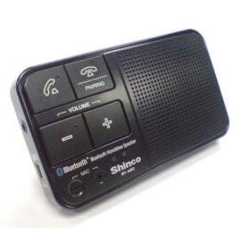 Shinco BT-680 Bluetooth Handsfree Speaker for Mobile/VoiP Phone w/ Free Carry Case