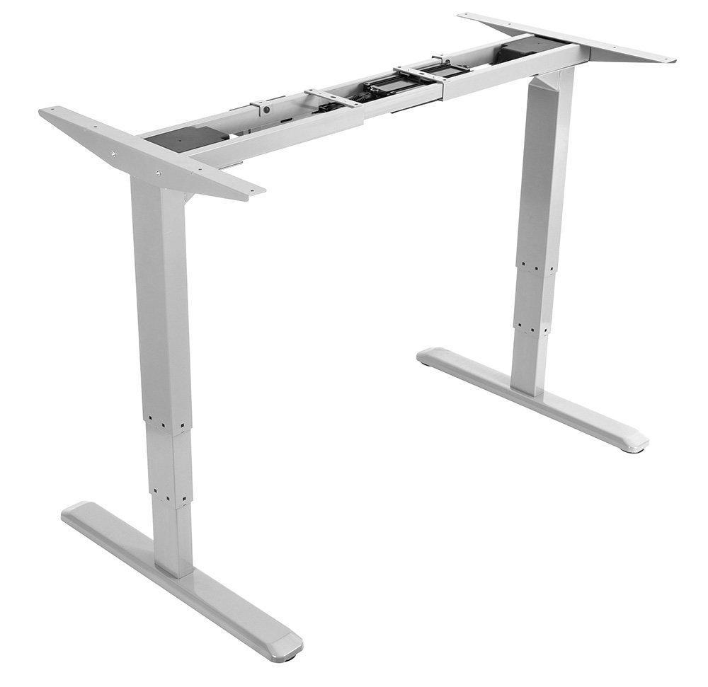 Allcam EDF21MD Electric Height Adjustable Desk Frame Single-motor Silver