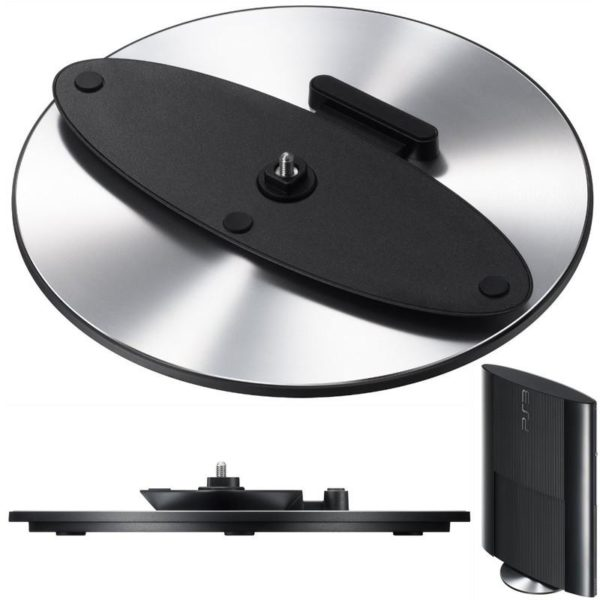 Sony Official Playstation 3 Round Vertical Stand for Super Slim PS3 Console (CECH-4000 Series)