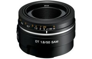 Sony SAL50F18 SAM DT Lens 50mm f/1.8 for Alpha Digital SLR Cameras