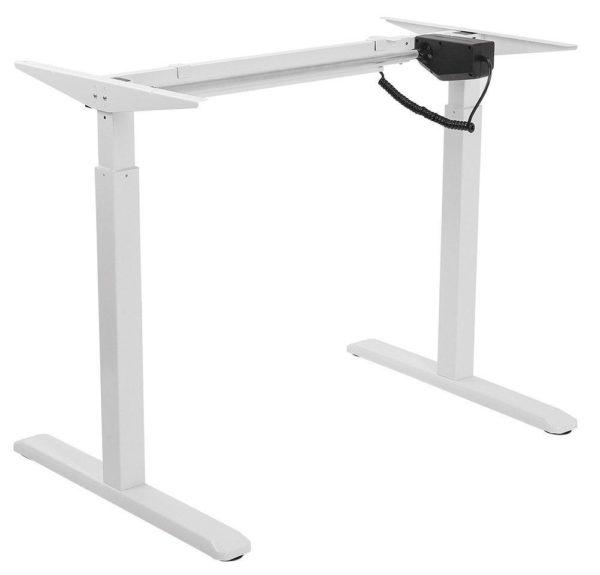 EDF01SN Single-motor Height Adjustable Standing Desk Frame in White or Black