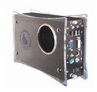 uBox-151 Micro Computer 2.4GHz CPU 512MB DVD/CD-RW 80GB DVI SPDIF Firewire