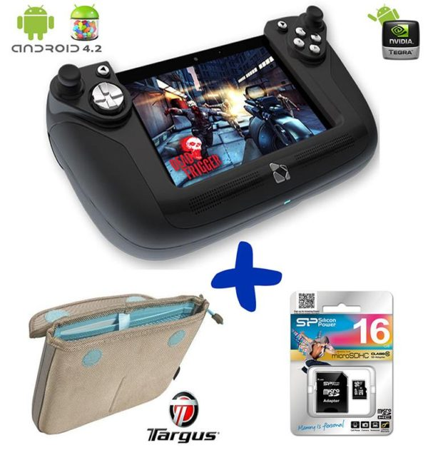 "Bundle: Wikipad 7"" Gaming Tablet w/ Detachable Controller + Targus Slim Carry Case + 16GB Micro SD Card (16GB Internal Memory, Android 4.2 Jelly Bean, 1.4 GHz NVIDIA Tegra 3 Quad-core CPU & 12-core GPU)"