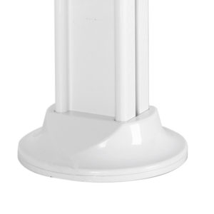 2600 series ipad kiosk desk table stand optional screw-down base