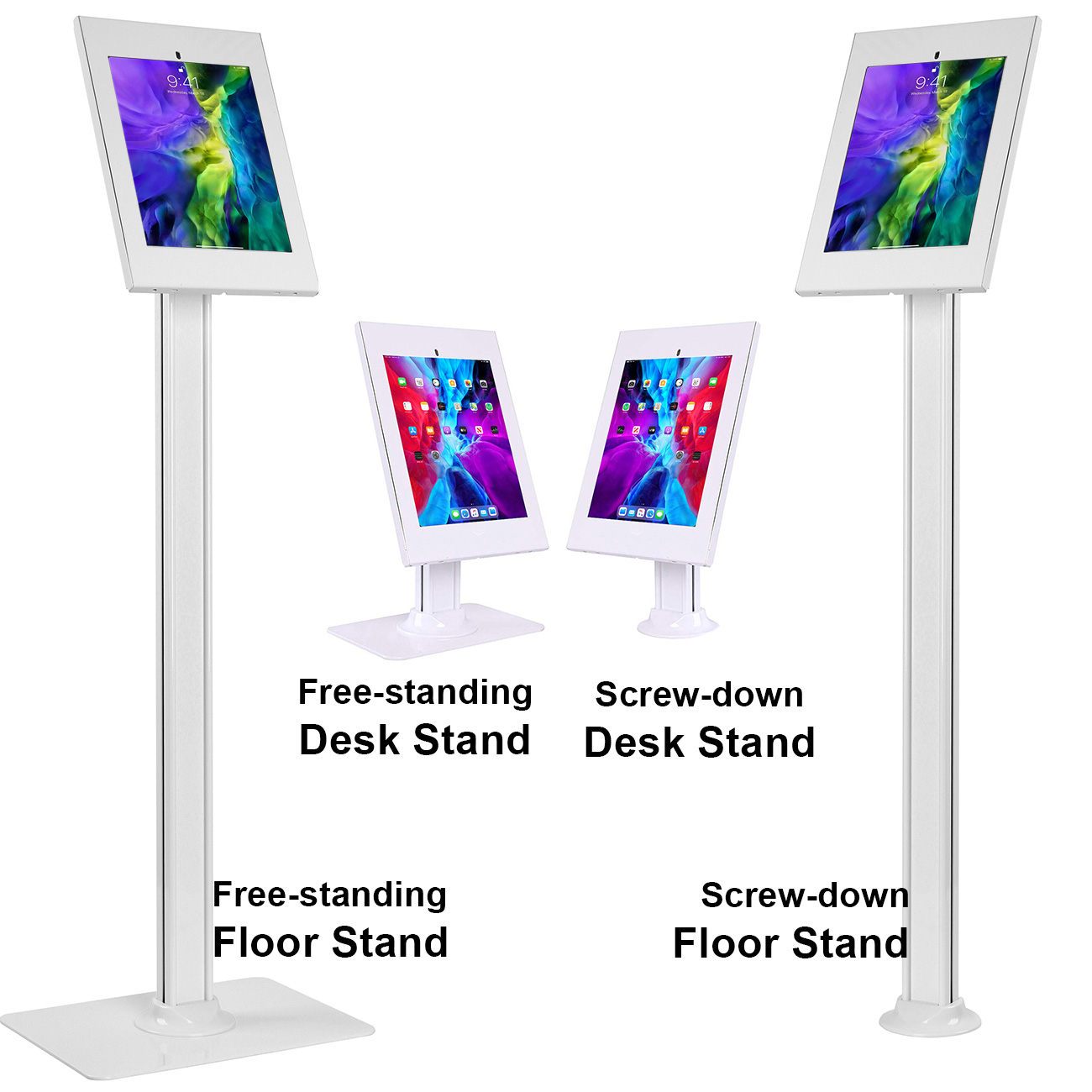 2600-series anti-theft secure iPad stand