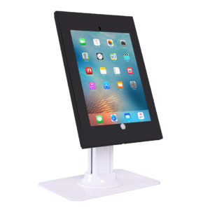 IPA2602DEB Anti-theft iPad Desk/Table Stand w/ Free-standing base Black