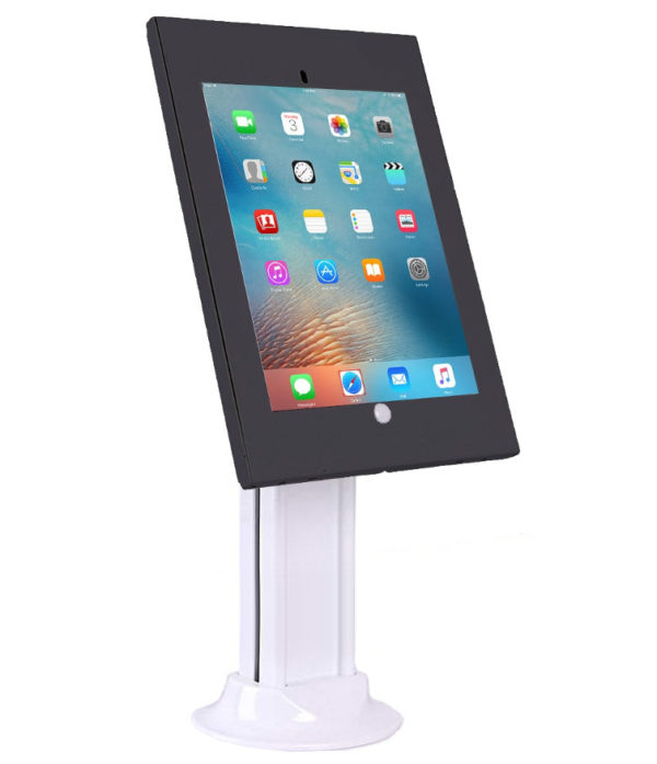 IPA2603SDB Anti-theft iPad Desk/Table Stand w/ Free-standing base Black