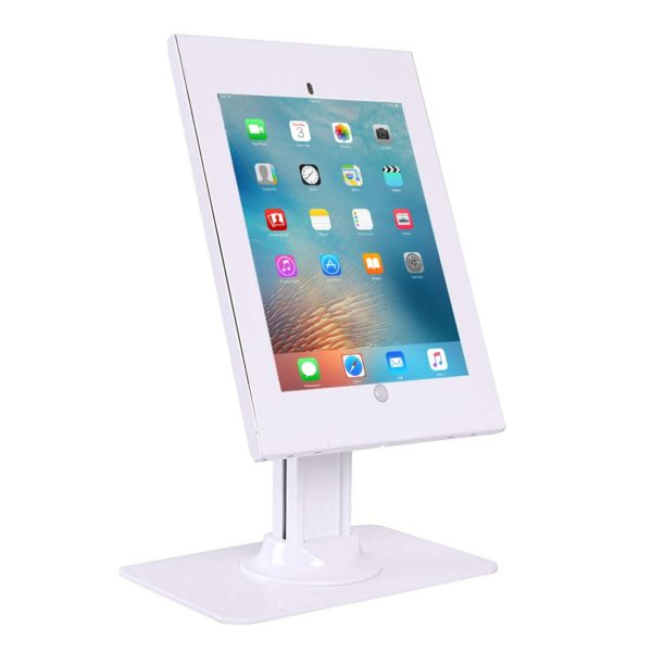 IPA2602DEW Tablet iPad desk table stand anti-theft security