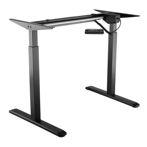 Allcam EDF01A electric height adjustable sit-stand desk black