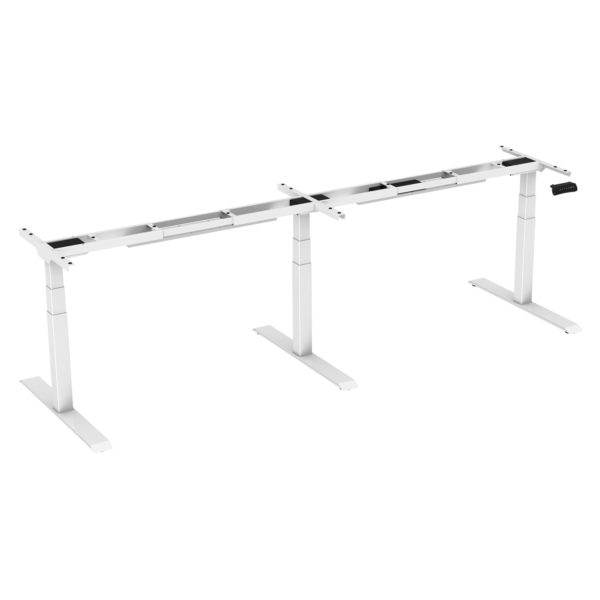 Allcam EDF35TMW Height adjustable meeting desk frame