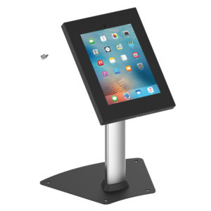 IPA1204DE iPad Air Pro 9.7 10.2 10.5 Desk Table Stand anti-theft Black