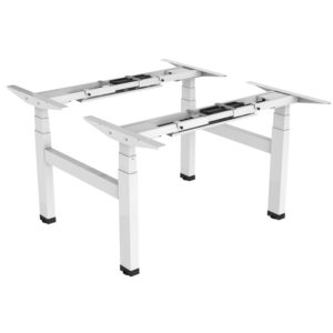 Allcam EDF04Q electric quad-motor height adjustable sit-stand desk white