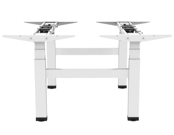 Allcam EDF04Q electric quad-motor height adjustable sit-stand desk side