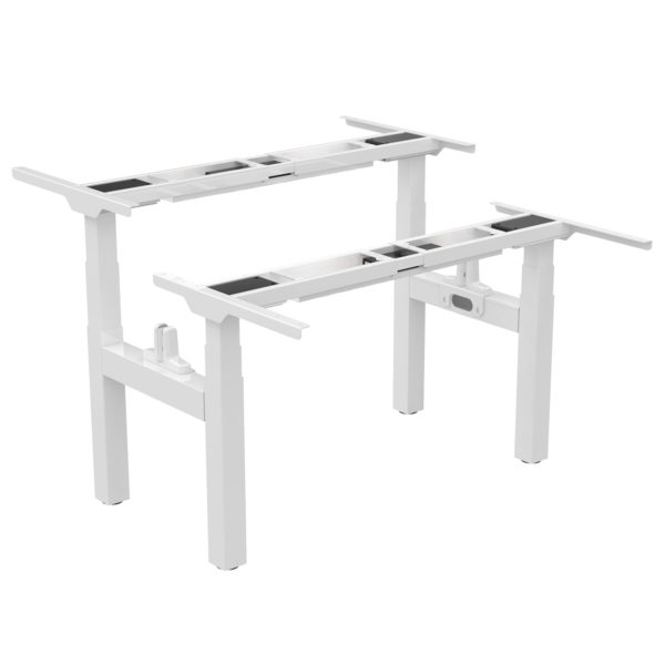 EDF34QW Electric motorised Back-to-Back Height-adjustable Sit-stand Desk Frame no top