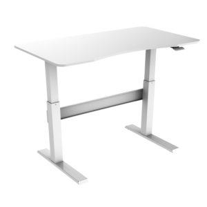Allcam GDF03 sit stand desk standing workstation height adjustable low