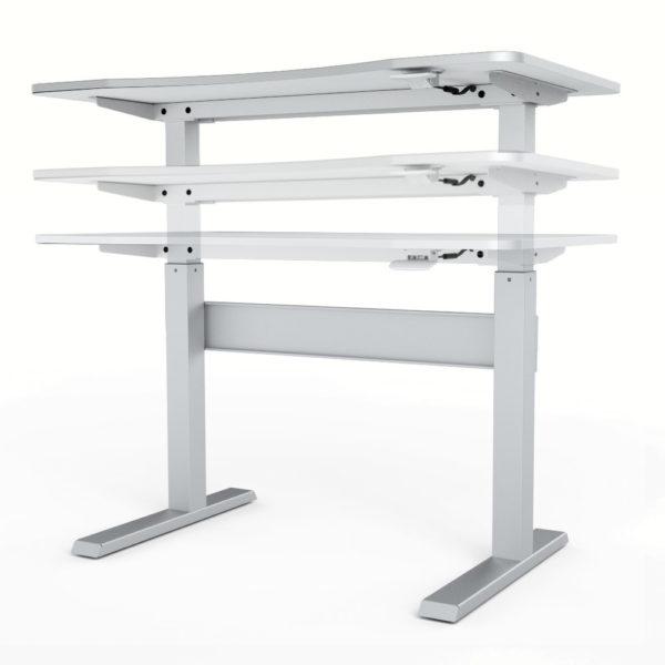 Allcam GDF03 sit stand desk standing workstation height adjustment