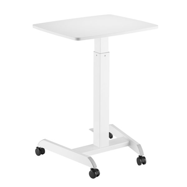Allcam GSL07W gas spring height adjustable laptop table reception desk back
