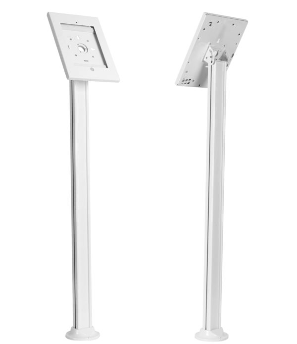 IPA2605 iPad 9.7 floor stand screw-down base front back