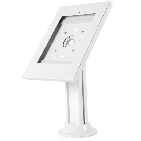 12.9 ipad pro table desk kiosk stand steel security stand screw-down