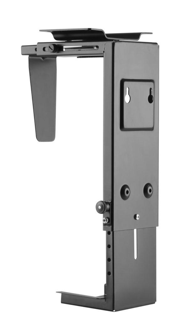 PH6UDB - CPU holder with Under Desk Mount for Desktop PCs in Black