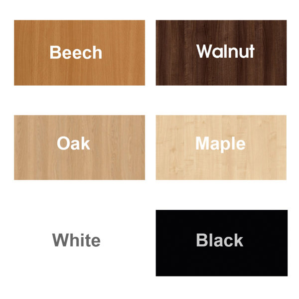 allcam MFC colour code comparison chart