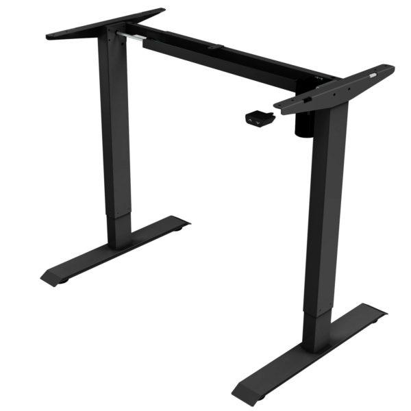 EDF21SB Electric Height Adjustable Standing Desk Frame Black