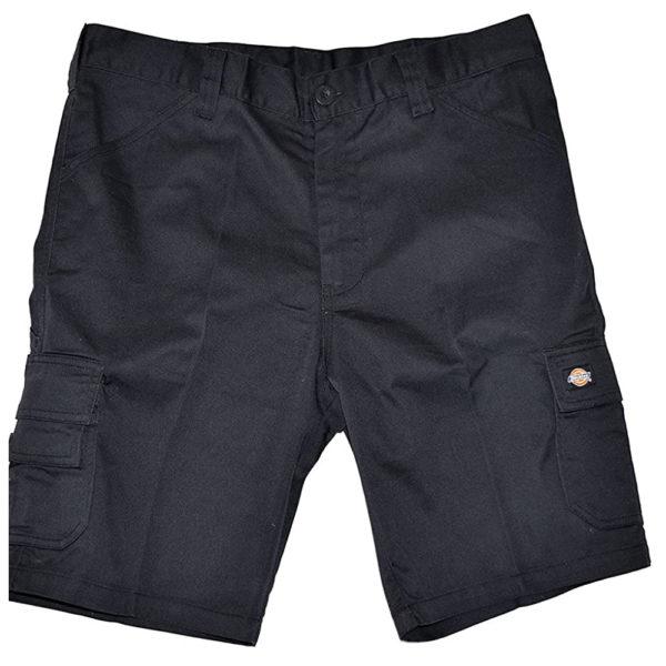 Dickies ED247SH Everyday Shorts Multi-pocket Work Shorts Black front