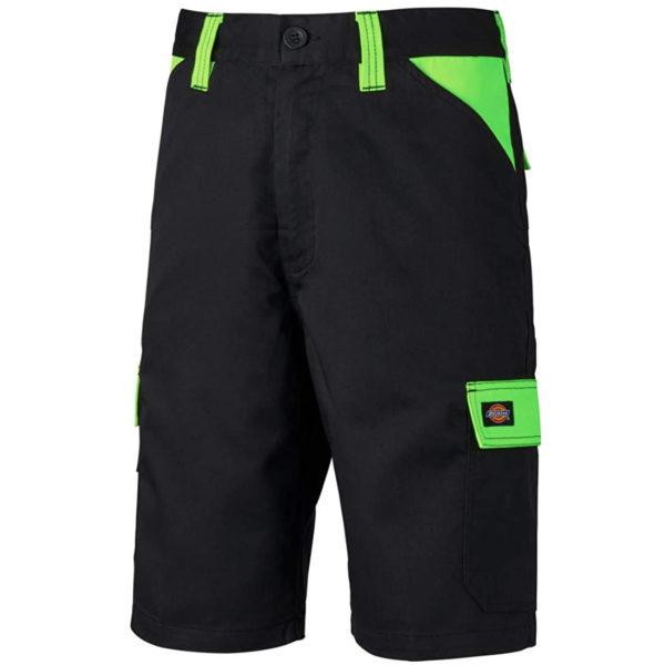 Dickies ED247SH Everyday Shorts Multi-pocket Work Shorts Black lime