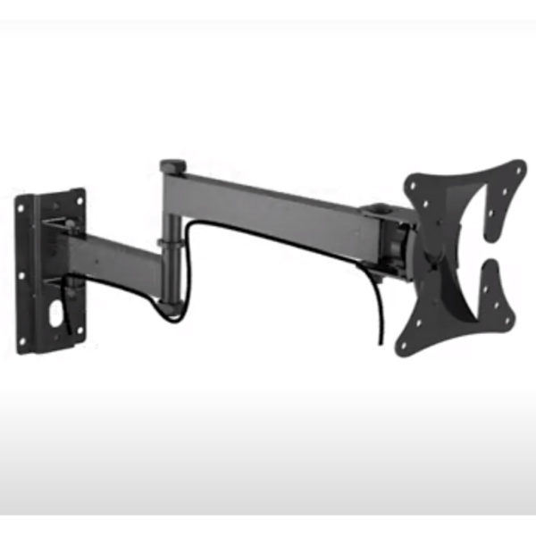 """LCD503A Universal 23""""-42"""" LCD Wall Mount Bracket Articulate Arms VESA 200x200 cable management"""