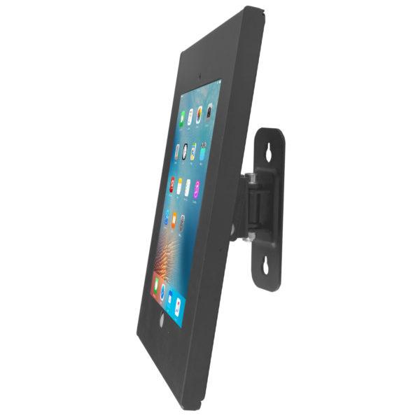 LDA+1201A 9.7 iPad Air tilting wall mount bracket anti-theft lock black