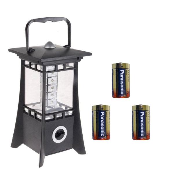 Allcam Vision 24 LED lantern light battery