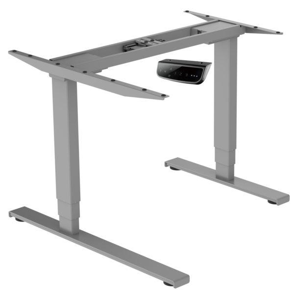 EDF12RDK Electric Dual-motor Height-adjustable Radial Standing Desk Frame Only left corner