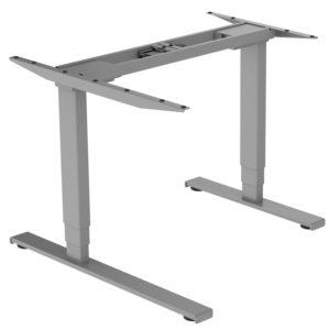 EDF12+RDK electric dual-motor standing sit-stand radial corner desk frame