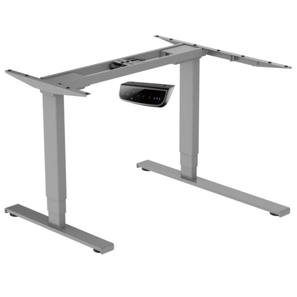 EDF12RDK Electric Dual-motor Height-adjustable Radial Standing Desk Frame Only right corner