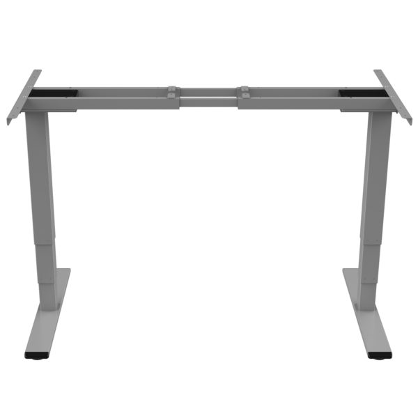 EDF42D Electric Dual-motor Sit-Stand Desk Frame Height Adjustable front view