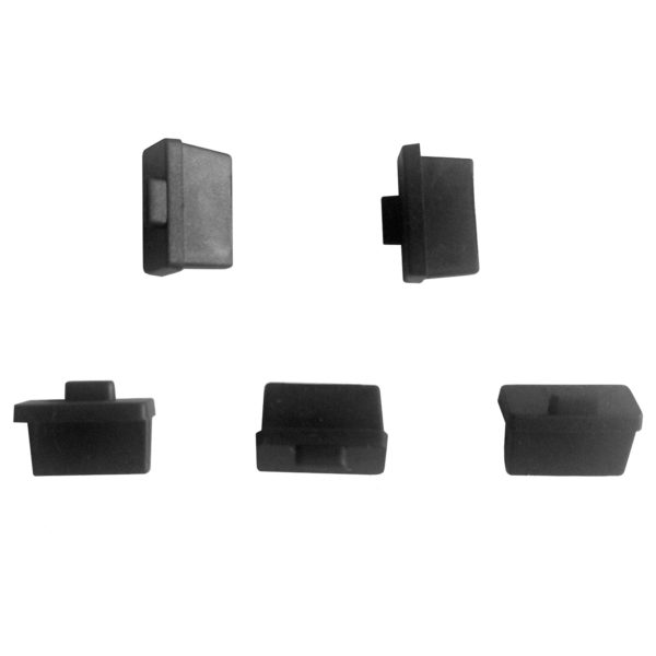 Pack of 5 Dust Covers for USB A ports jacks