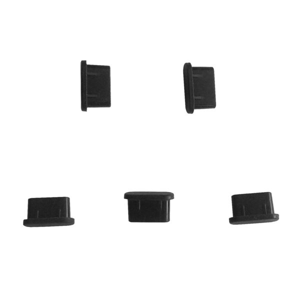 Pack of 5 Dust Covers for USB C ports jacks
