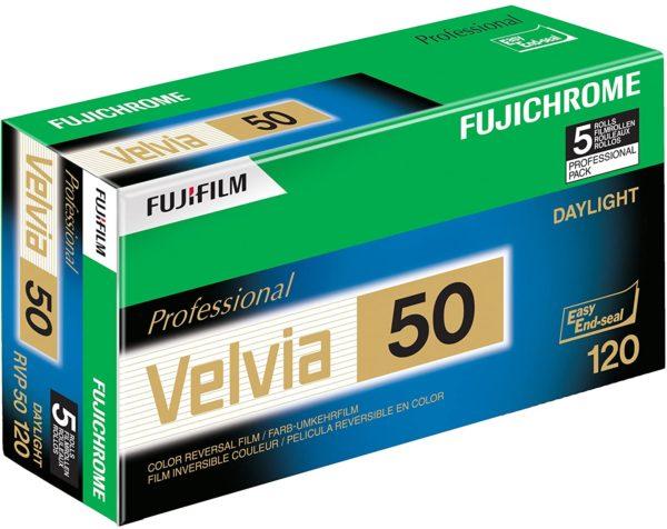 Fuji Velvia 50 RVP Colour Slide Film 120 (5)