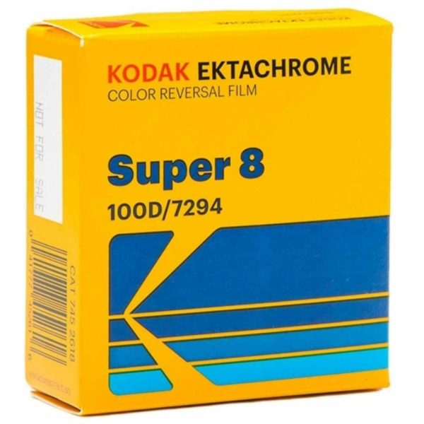 Kodak Ektachrome 100D Super 8 Movie Film 15m CAT 7452618