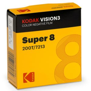 Kodak Vision 3 Super 8 200T Colour Negative Movie Film 15m CAT 1380765